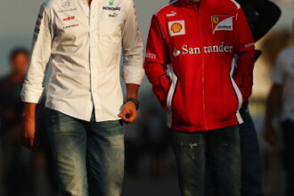 Felipe Massa l-a vizitat la spital pe Michael Schumacher: