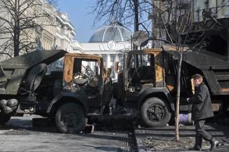 Russia Today, despre situatia din Ucraina: Provinciile din sudul si estul tarii neaga autoritatea Kievului