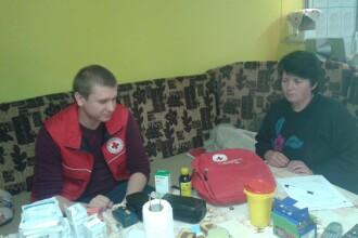 Puncte de prim ajutor in zone izolate. Crucea Rosie Sibiu vine in ajutorul persoanelor neajutoarate