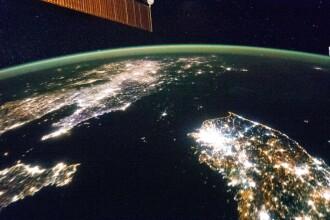 O tara scufundata in intuneric. Cum arata Coreea de Nord, vazuta noaptea din spatiu
