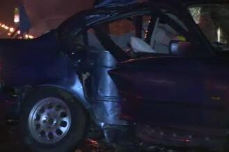 Un sofer de doar 19 ani din Bucuresti si-a omorat 2 prieteni intr-un accident cumplit. Avea carnet de conducere de 3 zile