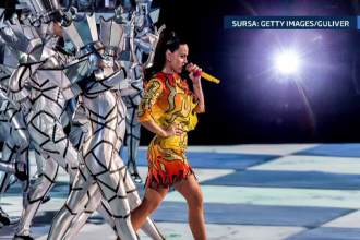 Katy Perry a fost starul celui mai mare concert din lume. Vedeta a cantat la Super Bowl