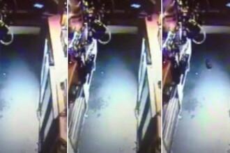 Incident bizar intr-un pub englezesc. O sticla s-a miscat singura si a cazut de pe bar. VIDEO