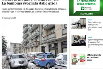 Noua tragedie romaneasca in Italia. Un barbat si-a omorat sotia cu un cutit si apoi s-a sinucis