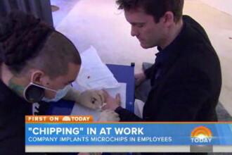 O companie din Suedia le implanteaza cipuri angajatilor pentru a avea acces la diverse servicii din cladire