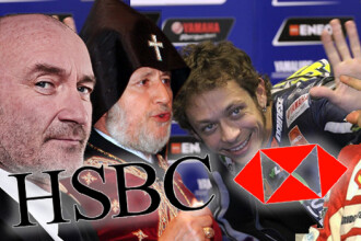 Banca elvetiana HSBC si-a ajutat clientii sa insele fiscul. Pe lista apar vedete, sportivi, politicieni si lideri religiosi