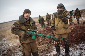 Criza in Ucraina. Armata SUA estimeaza ca 12.000 de soldati rusi ii sustin pe separatisti in estul tarii
