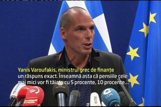 Negocierile Greciei cu ministrii din zona euro, in impas. Elenii considera