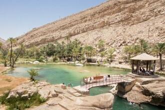 Drumul spre Rai din inima desertului. Ce se ascunde la capatul unei scari improvizate din Oman: FOTO