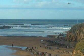 Un Obiect Zburator Neidentificat a fost fotografiat deasupra unei plaje britanice. Ce spun expertii