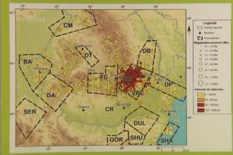 Cutremur cu magnitudinea de 3,1 in zona Vrancea, cu epicentrul in judetul Buzau, inregistrat duminica dupa amiaza