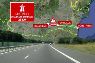 Planurile autoritatilor pentru primii 25 km din A2. Reactia ANAT: