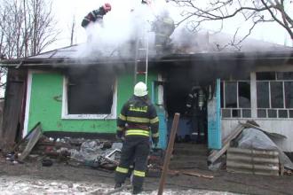 O batrana de 87 de ani a ars de vie in propria casa. Pompierii inca cerceteaza cauzele incendiului
