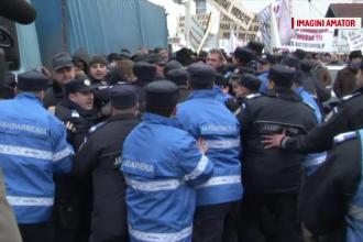 Protest cu imbranceli la Suceava. Romsilva, acuzata ca practica preturi excesive si incurajeaza comertul
