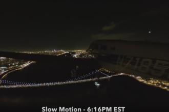 Fenomenul rar surprins de un pilot, la 500 de metri inaltime. Ce a aparut pe cer: VIDEO