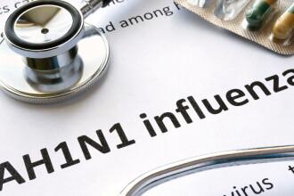 Pacientul decedat la Sibiu, cu diagnostic de bronhopenumonie, avea virusul gripal AH1