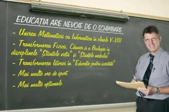 Se pregateste o noua schimbare in educatie. Matematica se uneste cu informatica, fizica si chimia devin