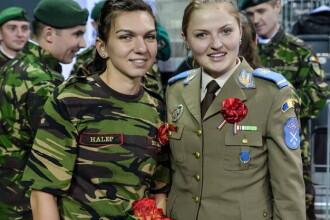 Dupa modelul MAI, MApN vrea sa devina popular cu ajutorul Simonei Halep. Sportiva a primit un tricou militar cu numele ei