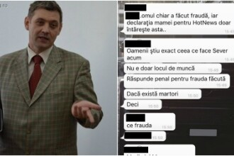 Cazul profesorului de la Liceul Tudor Vianu imparte elevii in doua tabere. Discutiile purtate de tineri pe WhatsApp. FOTO
