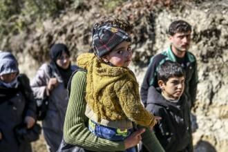 Un nou val de migranti se indreapta spre Europa. Numarul urias de persoane care au traversat marea in prima luna a lui 2016