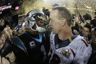 Super Bowl. Denver Broncos este noua campioana NFL dupa ce a batut Carolina Panthers cu 24-10