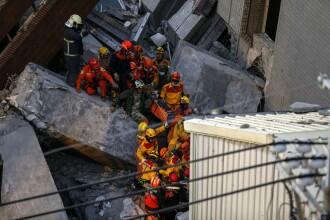 Fetita de 8 ani, salvata de sub daramaturi, la peste 60 de ore dupa cutremurul din Taiwan. Bilantul a ajuns la 37 de morti