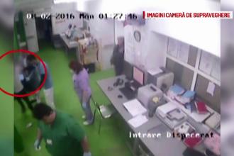 Scandal in spital, la Galati. Un barbat aflat sub influenta etnobotanicelor a lovit medicii si a distrus un aparat EKG