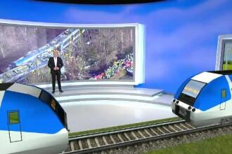 ANIMATIE GRAFICA. 10 morti si cel putin 80 de raniti, dupa ce doua trenuri s-au ciocnit in Germania. Cauza tragediei