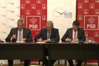 Dupa intelegerea cu UNPR, PSD a mai semnat un protocol de colaborare cu un partid din Parlament