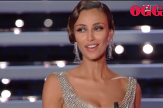 Madalina Ghenea a facut senzatie la festivalul de muzica de la Sanremo. Ce a spus pe scena despre copilaria ei din Romania