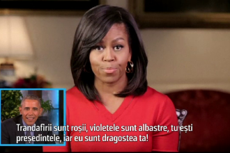 Declaratia de iubire pe care i-a facut-o Barack Obama sotiei, in direct.