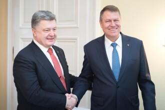 Klaus Iohannis s-a intalnit cu presedintele Ucrainei la Munchen si a discutat despre Rusia.