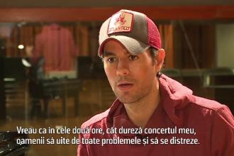 Care sunt marile iubiri ale lui Enrique Iglesias. Artistul a stat de vorba cu reporterii PRO TV