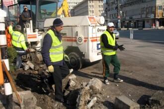 Strazile din Bucuresti intra in reparatii capitale. Lista drumurilor care vor fi inchise in zilele urmatoare
