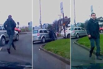 Un britanic a filmat momentul in care o soferita a fugit de la locul accidentului. Gestul care l-a transformat intr-un erou