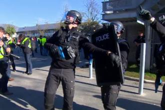 Simulare de atentat terorist intr-o scoala din Belgia. Peste 150 de politisti din trupele speciale au luat parte la exercitiu