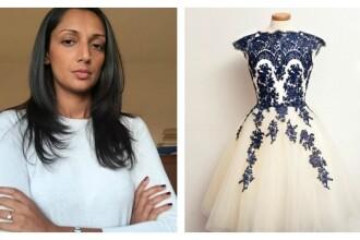 Si-a cumparat o rochie de mireasa de pe internet sperand ca va fi la fel ca in poze. Ce a primit insa acasa