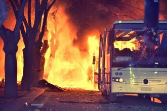 Cel putin 28 de morti in Turcia. Atacul din capitala a fost indreptat impotriva Armatei