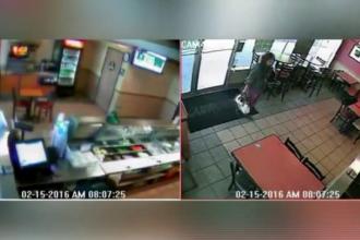 O femeie si-a abandonat bebelusul nou-nascut in toaleta unui fast-food din SUA. Cum a fost gasit micutul