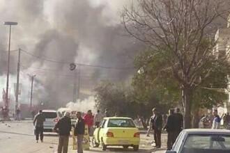 Dublu atentat in Siria. Cel putin 46 de persoane si-au pierdut viata, multe dintre victime fiind civili