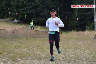 Maratonistul fara o mana care lupta pentru cei suferinzi. Vrea sa strabata Romania, alergand, in 11 zile, 600 de km