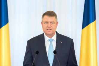 Presedintele Klaus Iohannis: