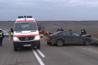 Un sofer de 28 de ani a murit dupa ce s-a lovit cu masina de un pod in Botosani. Tatal sau a fost doborat de vestea neagra