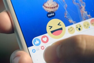 Facebook introduce noile butoane de reactii. Ce optiuni au la dispozitie utilizatorii retelei sociale