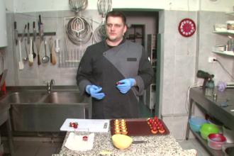 Tehnica rara cu care Alex Stan, juratul de la Bake Off Romania, isi decoreaza torturile. Ce sfaturi are pentru concurenti