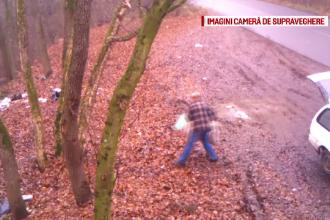 Padurea transformata in insula de gunoi. Ce au surprins localnicii dupa ce au instalat o camera de filmat: