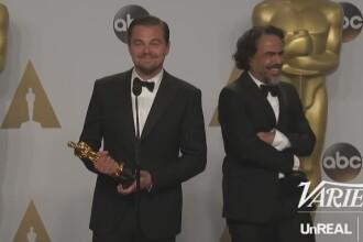 OSCAR 2016. Reactia lui Leonardo DiCaprio la intrebarea unei jurnaliste. Toata sala a inceput sa rada. VIDEO