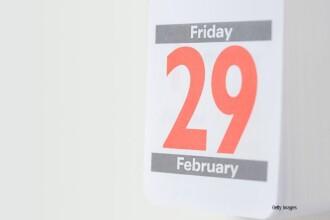 Cum am ajuns sa avem ziua de 29 februarie. 12.500 de romani isi sarbatoresc ziua de nastere in aceasta zi