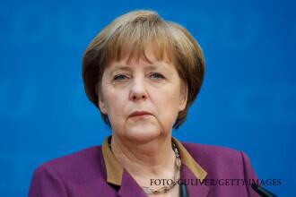 Politia germana a descoperit un cap de porc in fata biroului de deputat al Angelei Merkel. Biletelul de care era insotit