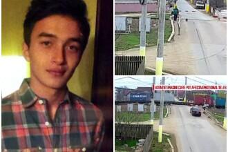 Elevul olimpic din Constanta ucis de tren purta casti in timpul impactului. Imaginile surprinse de camere inainte de accident